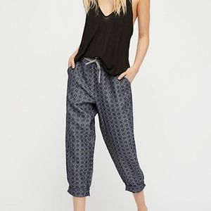 Free People The Harley Cropped Pant Jogger